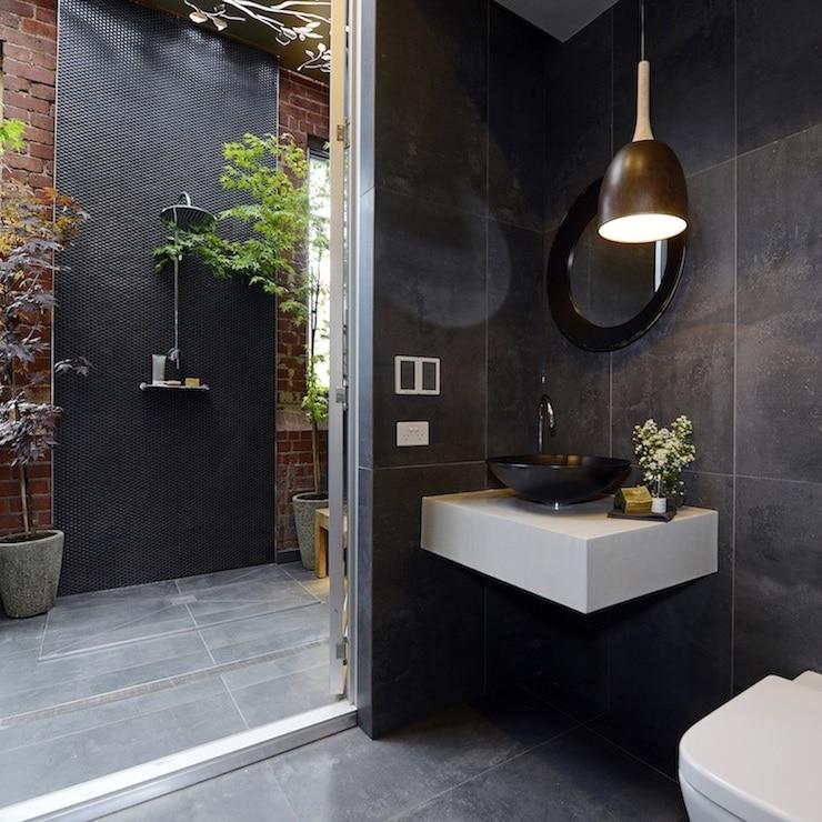 une salle de bain japonisante - Salle de bain zen : 7 conseils pour créer une ambiance relaxante