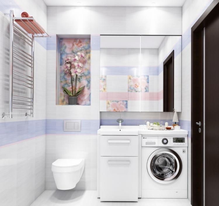 Salle de bain 15 exemples de 4m 17m - Exemple amenagement salle de bain ...