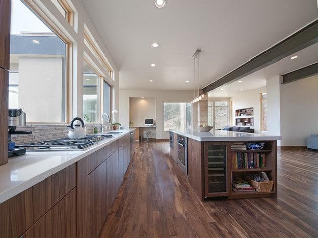 11 mod les de cuisine en bois moderne - Modele cuisine bois moderne ...
