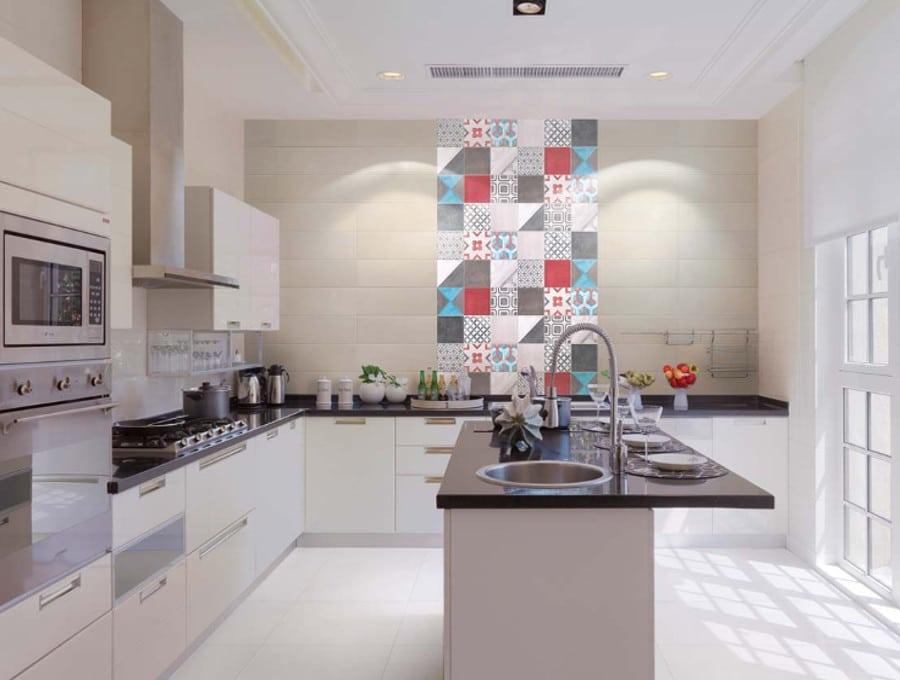 Faïence Céramique Carreaux De Ciment Et Cuisine Idées D - Faience ancienne cuisine pour idees de deco de cuisine