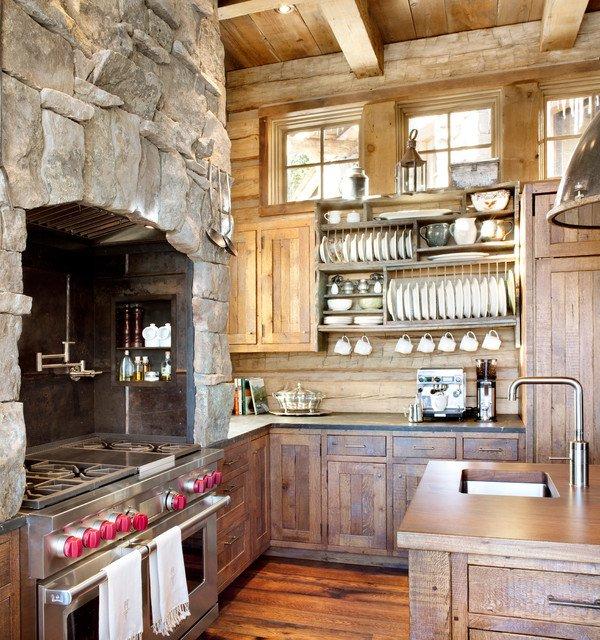 15 murs de cuisine tonnants toutes nos astuces de d coration - Decorer un grand pan de mur ...