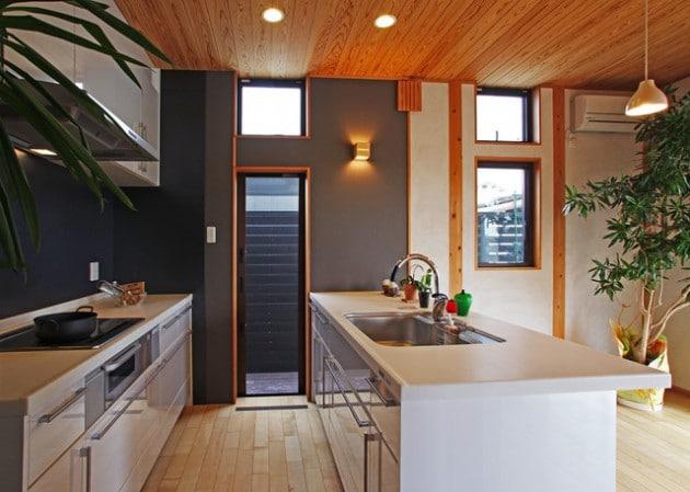 ambiance et style cuisine top cuisine noire style bistrot. Black Bedroom Furniture Sets. Home Design Ideas