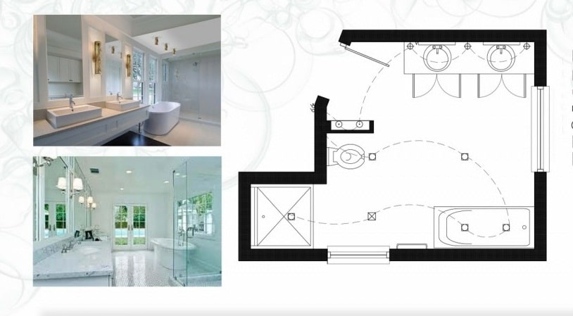 awesome plan salle de bain moderne gallery amazing house
