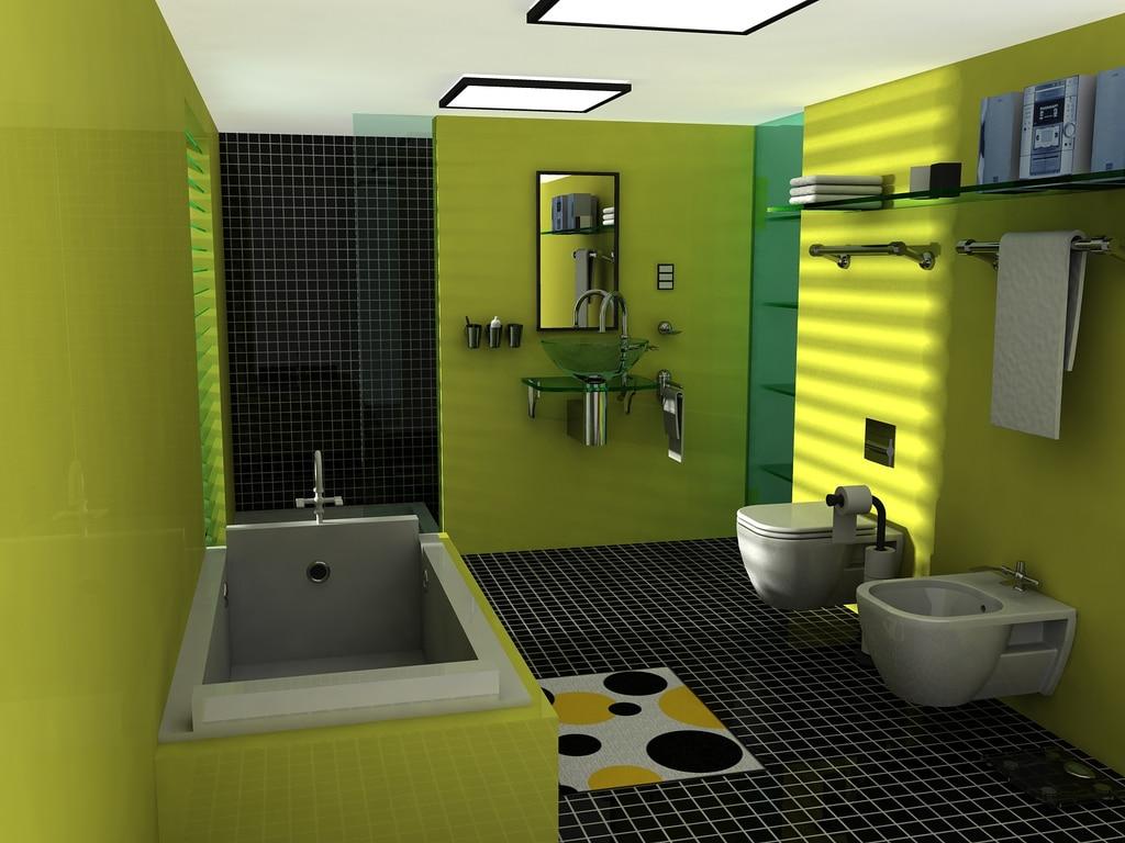 salle-de-bain-coloree