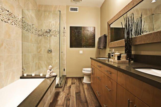 Salle de bain: 15 exemples de 4m² à 17m²