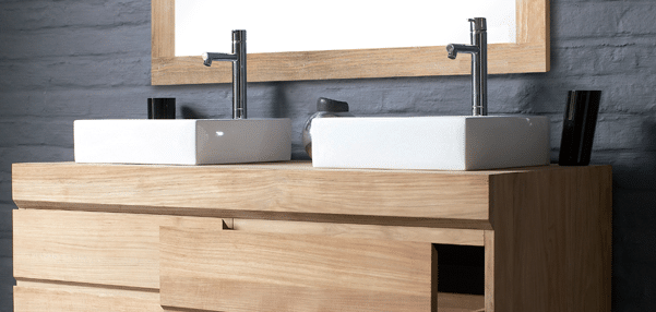 Utilisation du teck dans la salle de bain pr vention et for Entretien meuble en teck