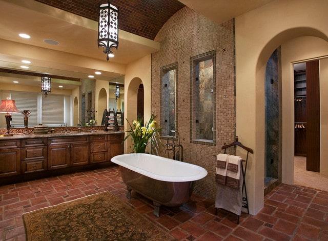 salle-de-bain-mediterraneenne-avec-mosaique