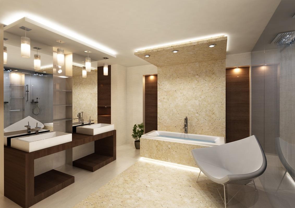 Salle de bain design minimaliste 5 mani res de for Salle de bain minimaliste