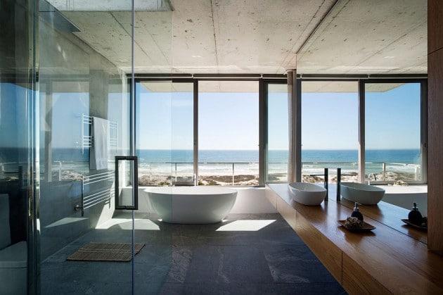 salle de bain modern avec vue sur la mer - En panne d'idées pour aménager votre salle de bain? Ces 20 modèles vont stimuler votre inspiration