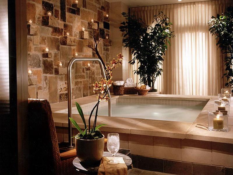 Salle de bain spa: 9 façons de l\'aménager