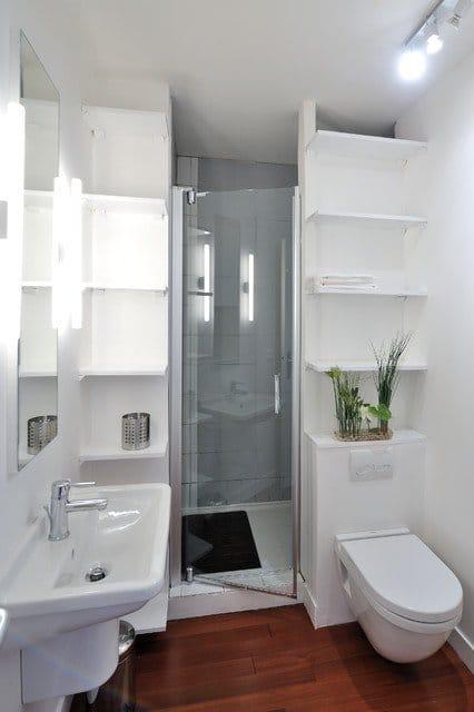 Am nager une petite salle de bain 7 conseils et astuces for Creer une petite salle de bain