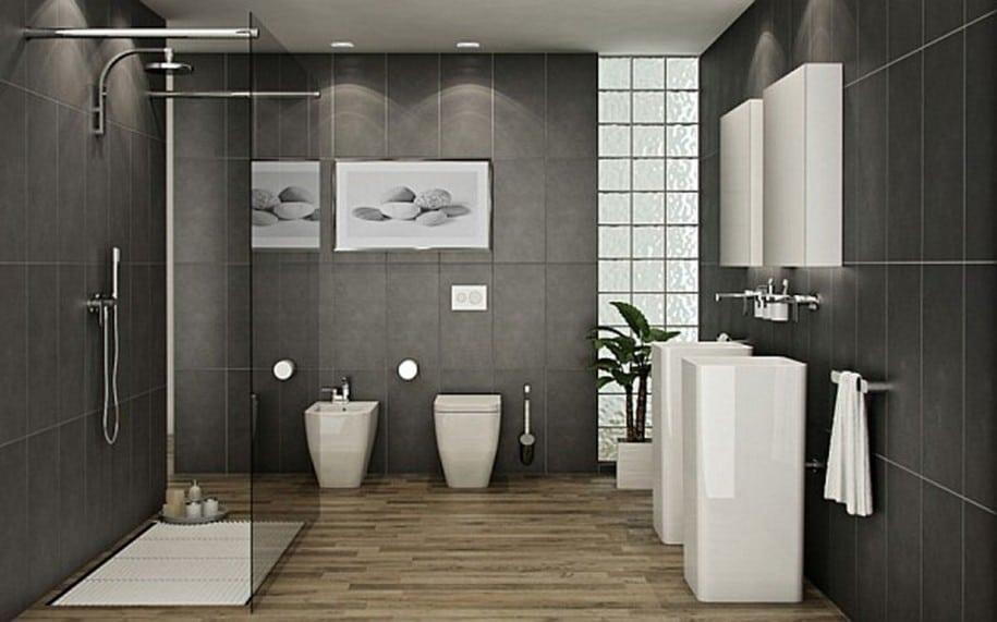 une salle de bain moderne quel carrelage de douche salle bain pour r aliser - Carrelage Moderne Pour Salle De Bain