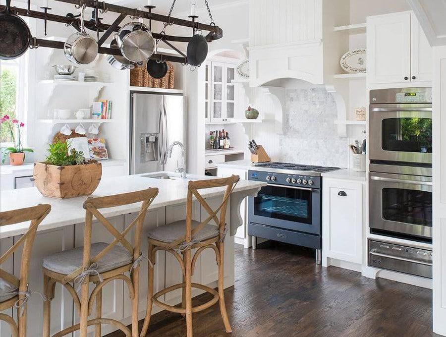 6 trucs d co pour donner votre cuisine un air de campagne - Cuisine campagnarde grise ...