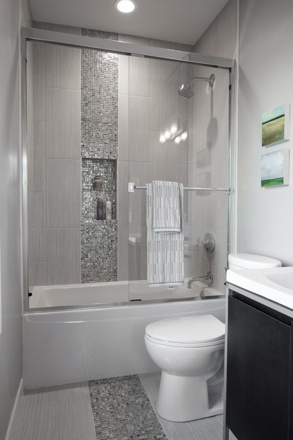 am nager une petite salle de bain 7 conseils et astuces. Black Bedroom Furniture Sets. Home Design Ideas
