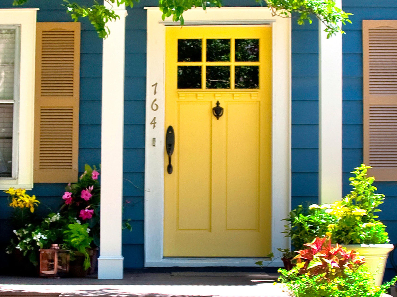11 modles de portes dentres accueillantes consobricocom - Couleur Porte D Entree