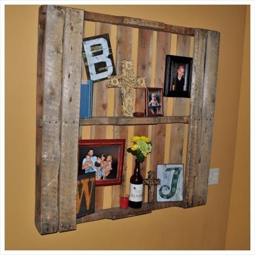 tag re en palette bois 23 id es entre originalit et esth tisme. Black Bedroom Furniture Sets. Home Design Ideas