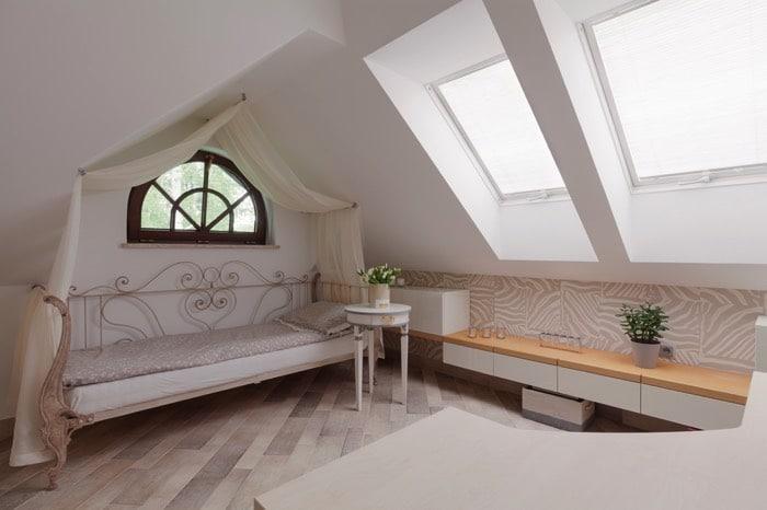 Chambre mansard e avantages et inconv nients for Amenagement d une chambre