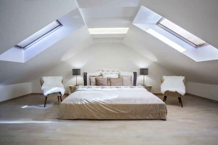 Chambre mansard e avantages et inconv nients - Deco chambre mansardee ...