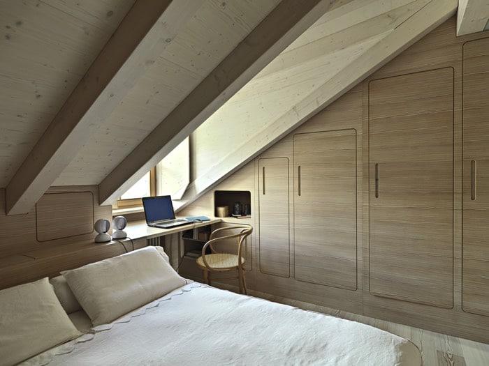 Chambre Sous Pente De Toit. Beautiful Chambres Sous Les Combles ...