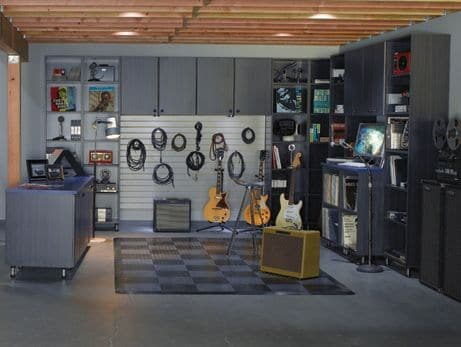 garage am nag 14 id es d co pour transformer votre garage. Black Bedroom Furniture Sets. Home Design Ideas