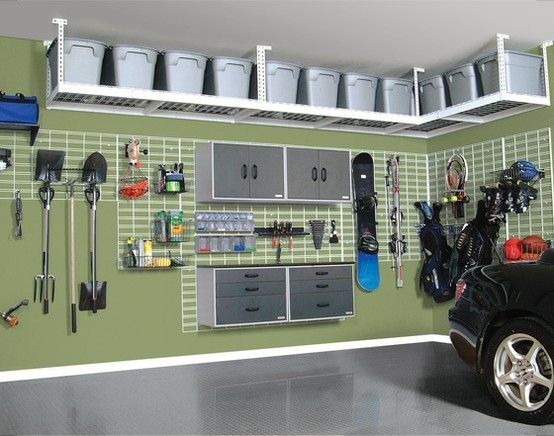 Garage am nag 14 id es d co pour transformer votre garage - Fabrication etagere garage ...