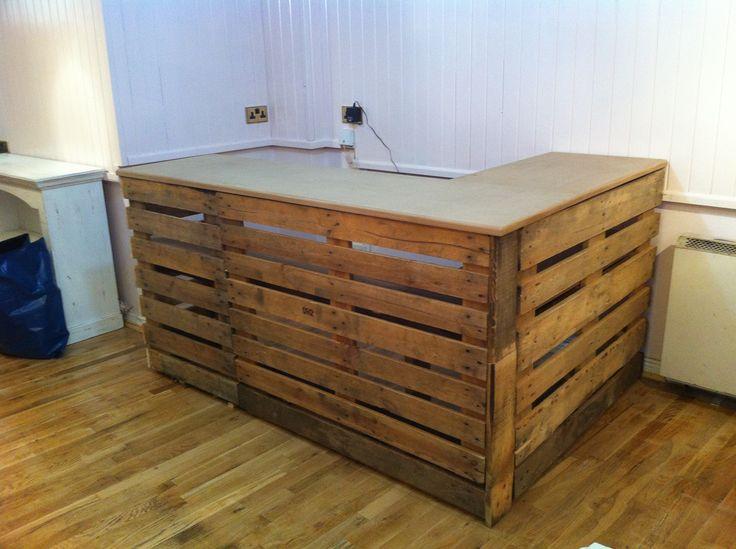 bar en palette bois yf26 jornalagora. Black Bedroom Furniture Sets. Home Design Ideas
