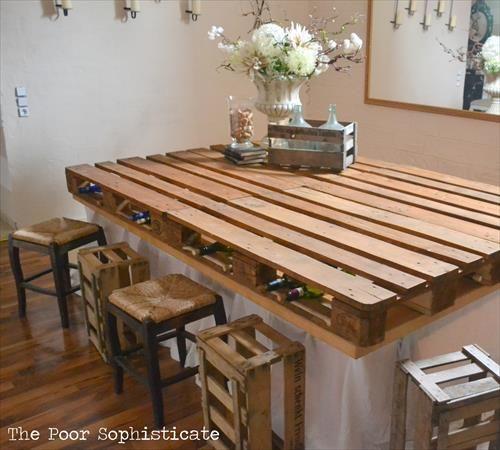 bar en palette bois 16 photos conseils et astuces pour bien le fabriquer. Black Bedroom Furniture Sets. Home Design Ideas