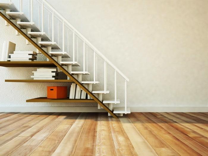14 biblioth ques am nag es sous l 39 escalier. Black Bedroom Furniture Sets. Home Design Ideas