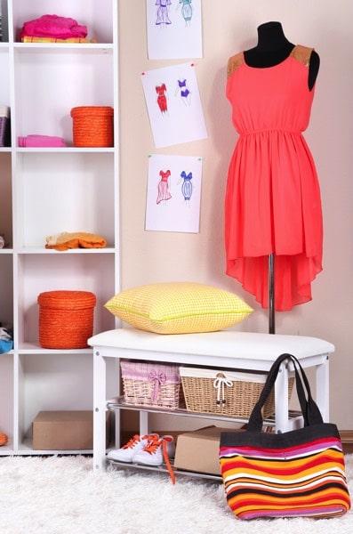 chambre d ado fille 101 id es d co sympas et ludiques. Black Bedroom Furniture Sets. Home Design Ideas