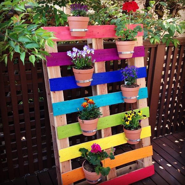 Jardiniere En Palette 21 Idees Une Jardiniere A Petit Prix
