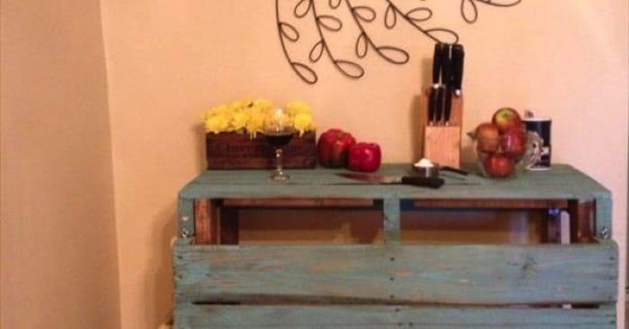 Peindre une table en palette Quelles couleurs pour