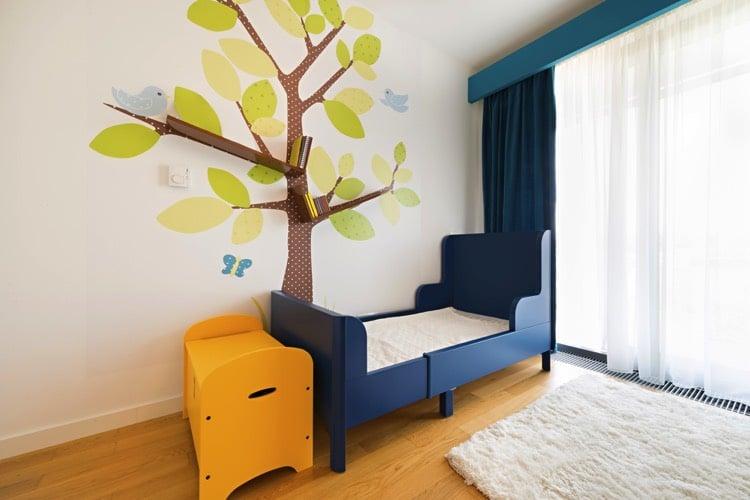 peinture chambre enfant chambre enfant peinture ombree clair sombre marier les couleurs les. Black Bedroom Furniture Sets. Home Design Ideas