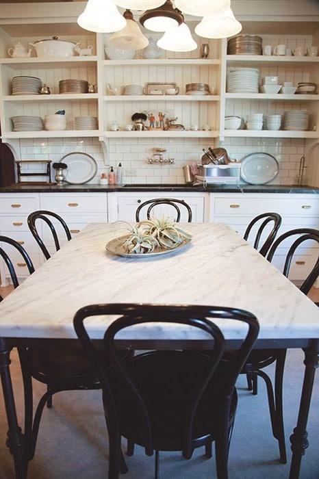 Salle A Manger Design Blanche 25 Idees L Associer Avec