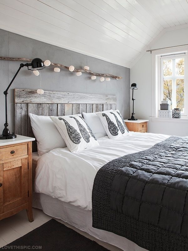 T te de lit en palette 15 mod les et astuces pour bien la fabriquer - Tete de lit avec des palettes ...