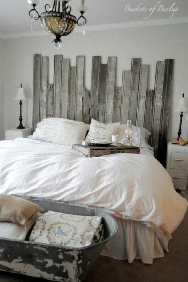 tete de lit palette bois