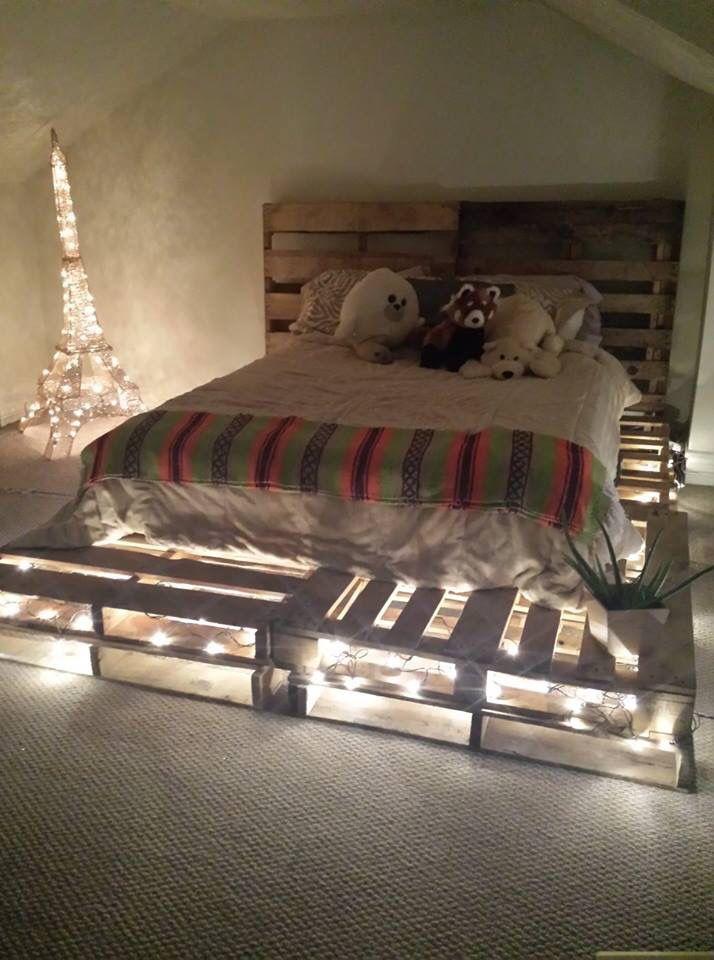t te de lit en palette 15 mod les et astuces pour bien la fabriquer. Black Bedroom Furniture Sets. Home Design Ideas
