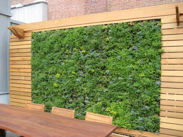 mur v g tal de balcon 10 id es d co comment cr er l. Black Bedroom Furniture Sets. Home Design Ideas