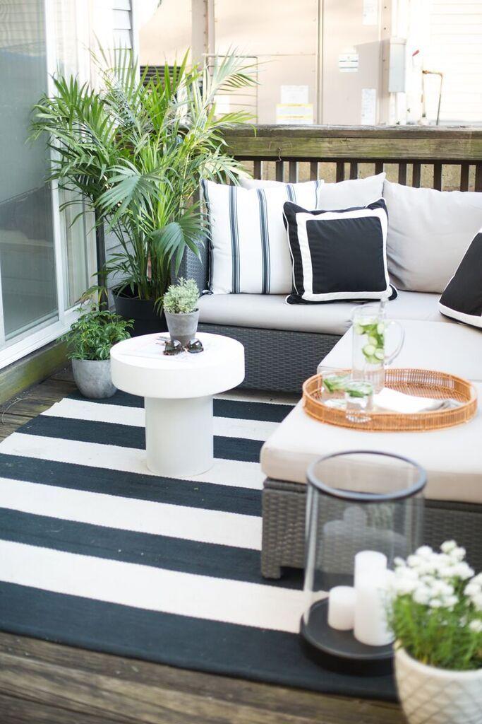 Aménagement d\'un balcon (25 idées déco) : 9 manières d\'aménager
