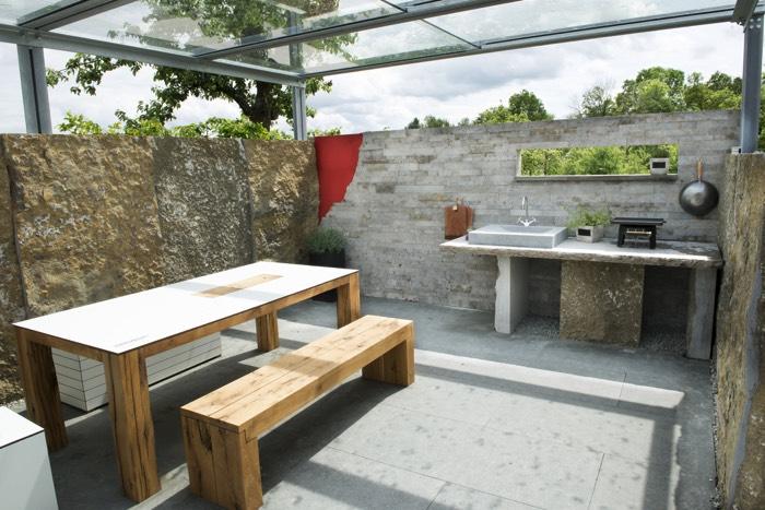 cuisine d t 28 id es d 39 am nagement pour profiter de son jardin. Black Bedroom Furniture Sets. Home Design Ideas