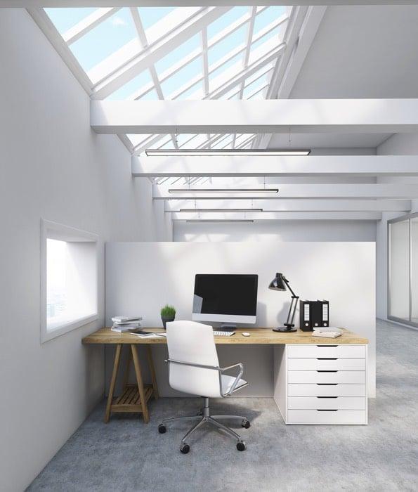 am nagement d un petit bureau 50 id es pour maximiser l espace. Black Bedroom Furniture Sets. Home Design Ideas