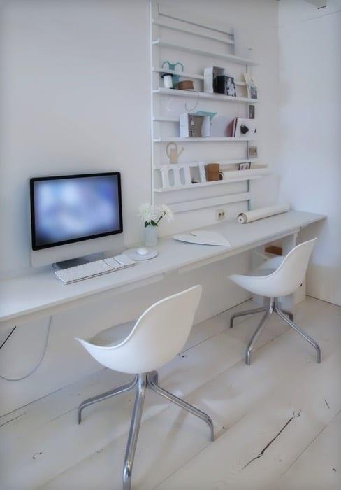 Aménagement d\'un petit bureau : 50 idées pour maximiser l\'espace