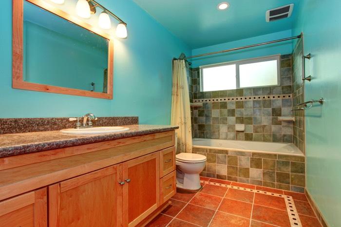 comment repeindre sa salle de bain 25 id es toutes les. Black Bedroom Furniture Sets. Home Design Ideas