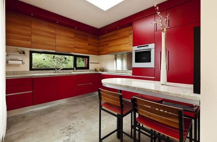Salle  Manger Rouge  Modles Modernes Et Traditionnels