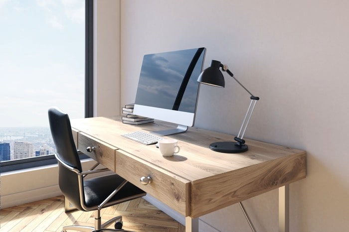 25 id es d co d un bureau maison nos astuces pour le for Idee decoration bureau maison