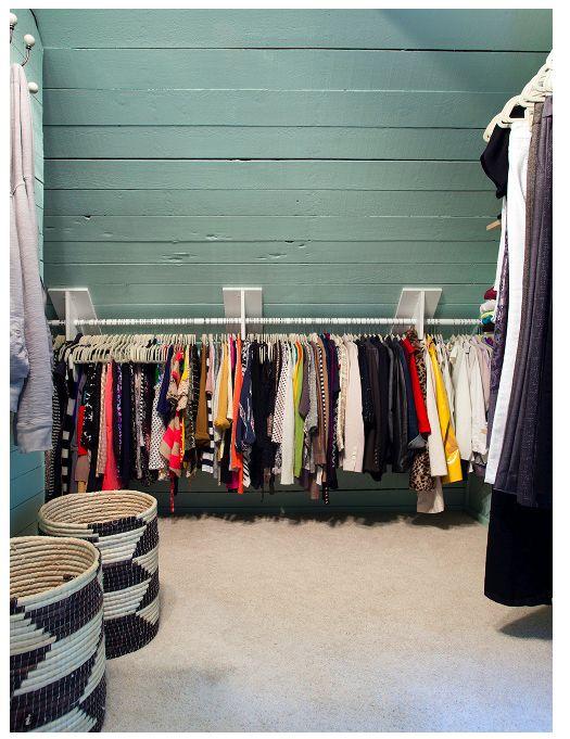 Dressing Sous Pente 14 Idees Pour Exploiter Au Mieux L Espace Sous Toit