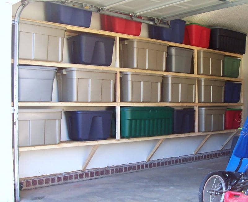 14 id es et astuces de rangement pour le garage - Meuble de rangement garage ...