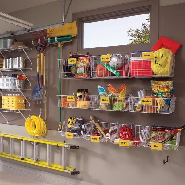 14 id es et astuces de rangement pour le garage - Idee de rangement pour garage ...