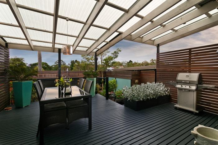 am nagement d 39 une terrasse 51 id es d co nos conseils. Black Bedroom Furniture Sets. Home Design Ideas