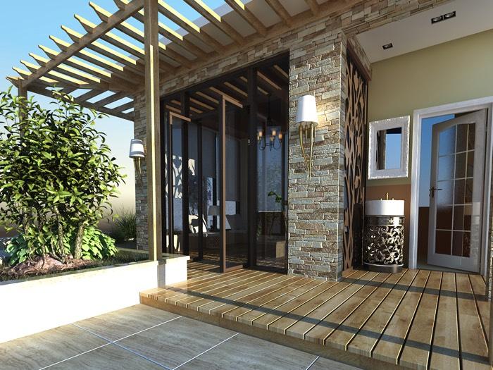 Aménagement d'une terrasse1