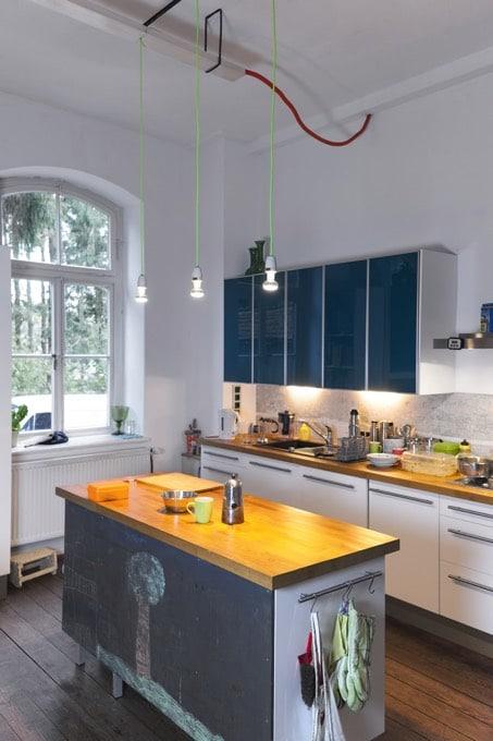 41 id es de peinture pour la cuisine les couleurs les - Peindre une cuisine ...